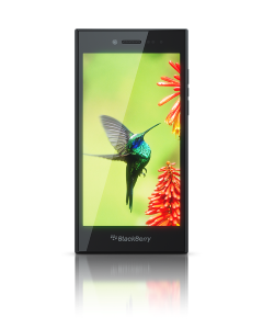 BlackBerry Leap: All-touchscreen device for young professionals