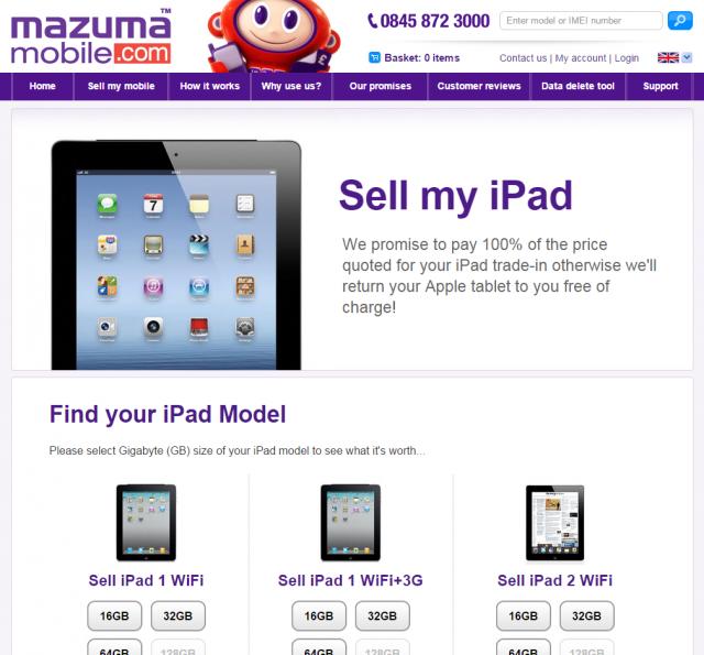 Sell My iPad