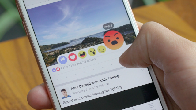 Facebook Reactions now available worldwide