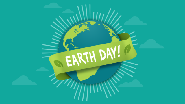 Friday 22nd of April will be Earth Day