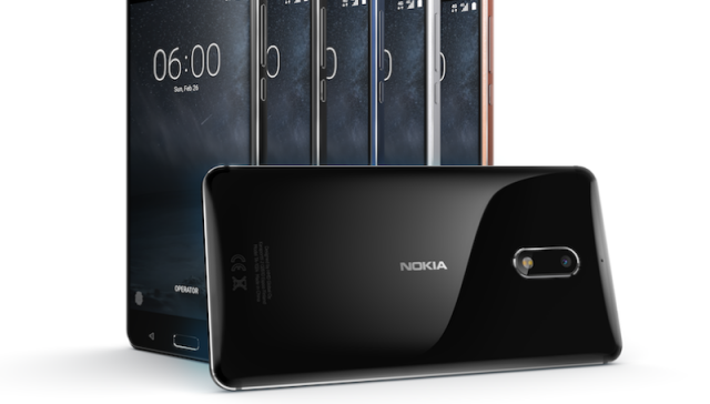 Three new high-end smartphones unveiled by Nokia
