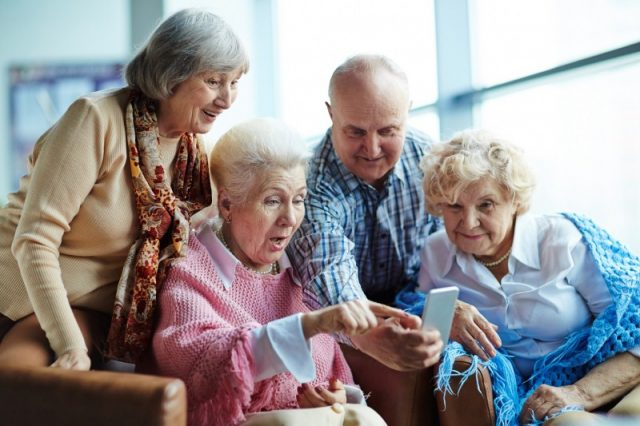 Over-50s have embraced smartphone revolution