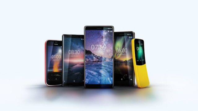 Nokia announces four new smartphones