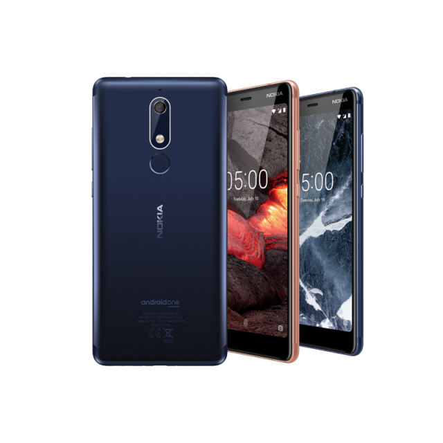 New and upgraded Nokia 5.1, Nokia 3.1 and Nokia 2.1 coming soon