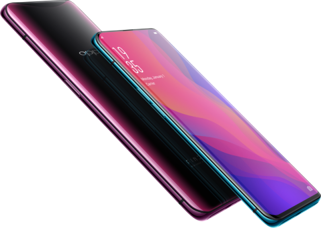 Oppo Find X delivers all-screen experience with pop-up cameras