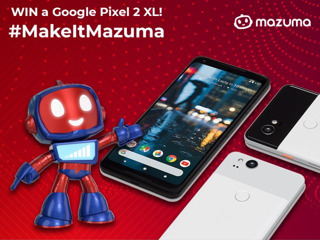 We Want Your Selfies! #MakeItMazuma