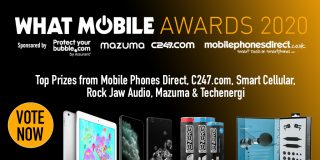 Mazuma Mobile at the What Mobile Awards