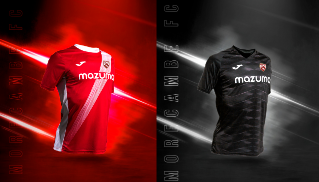 The new Morecambe FC 21/22 shirt reveal!