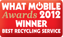 What mobile awards 2012 winnder - Best Recycling Service