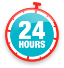 24 Hours activation Logo