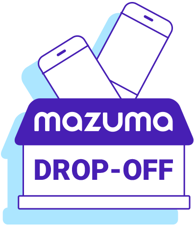 Drop-off in person icon